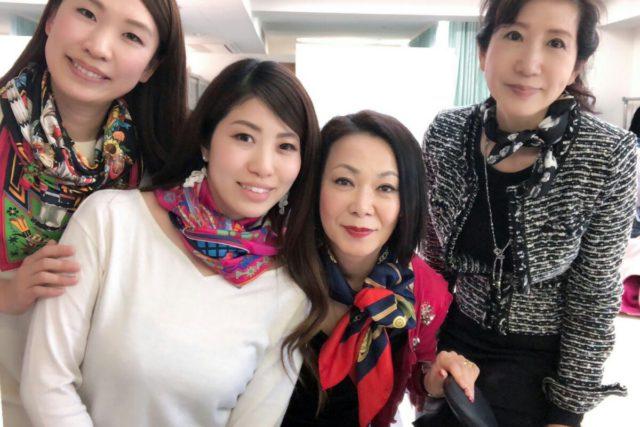【開催報告】スカーフコーディネーターベーシック講座