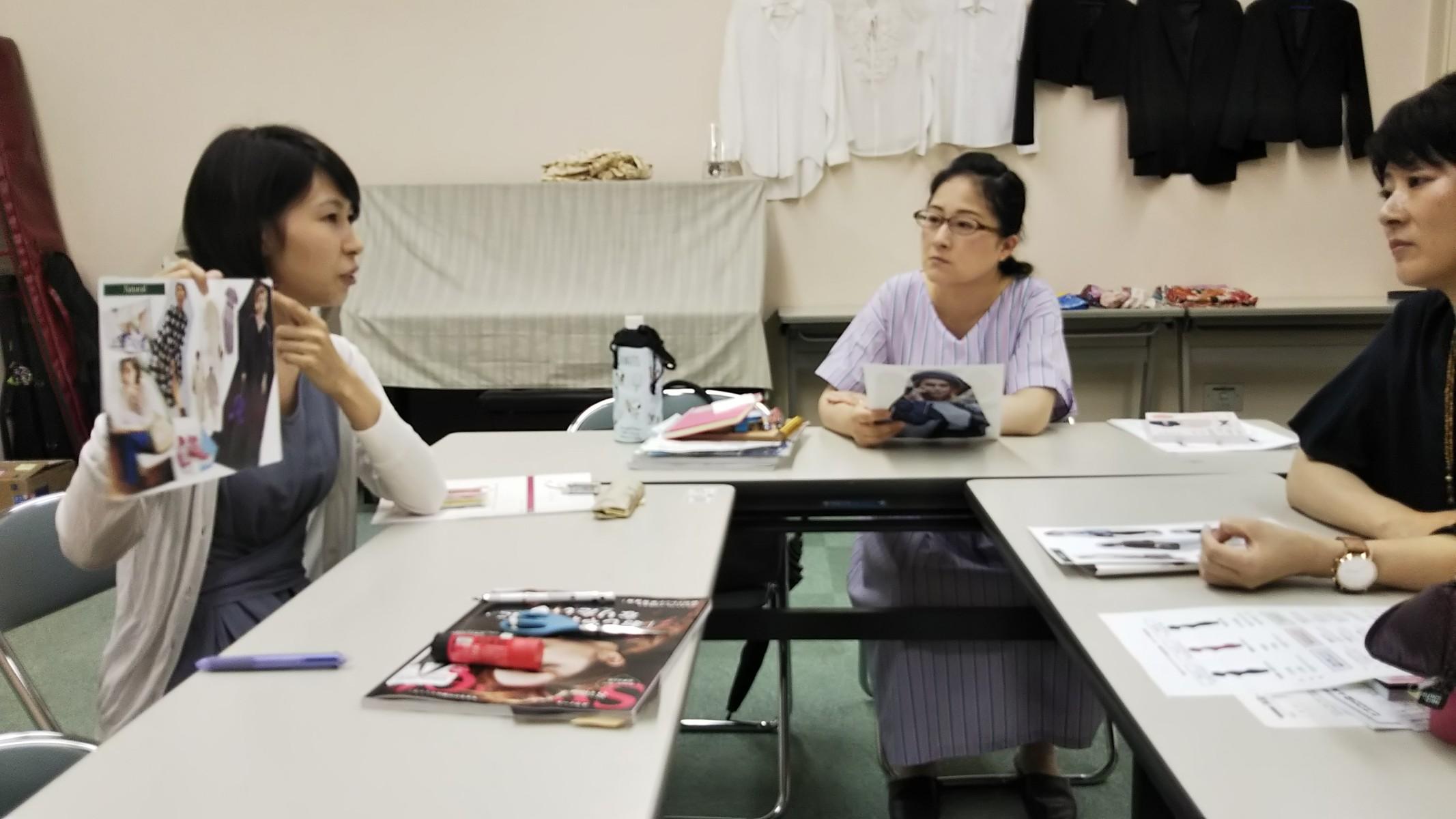 【開催報告】骨格スタイルアドバイザー3級認定講座(JEUGIAカルチャーセンター)
