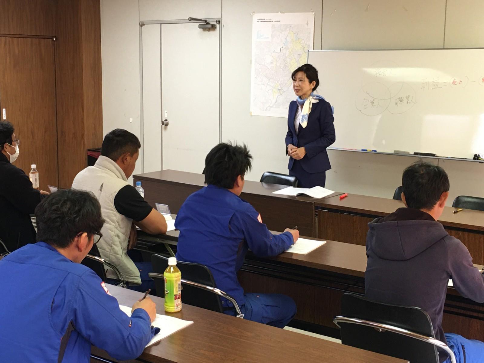 【開催報告】某石材会社のビジネスマナー研修