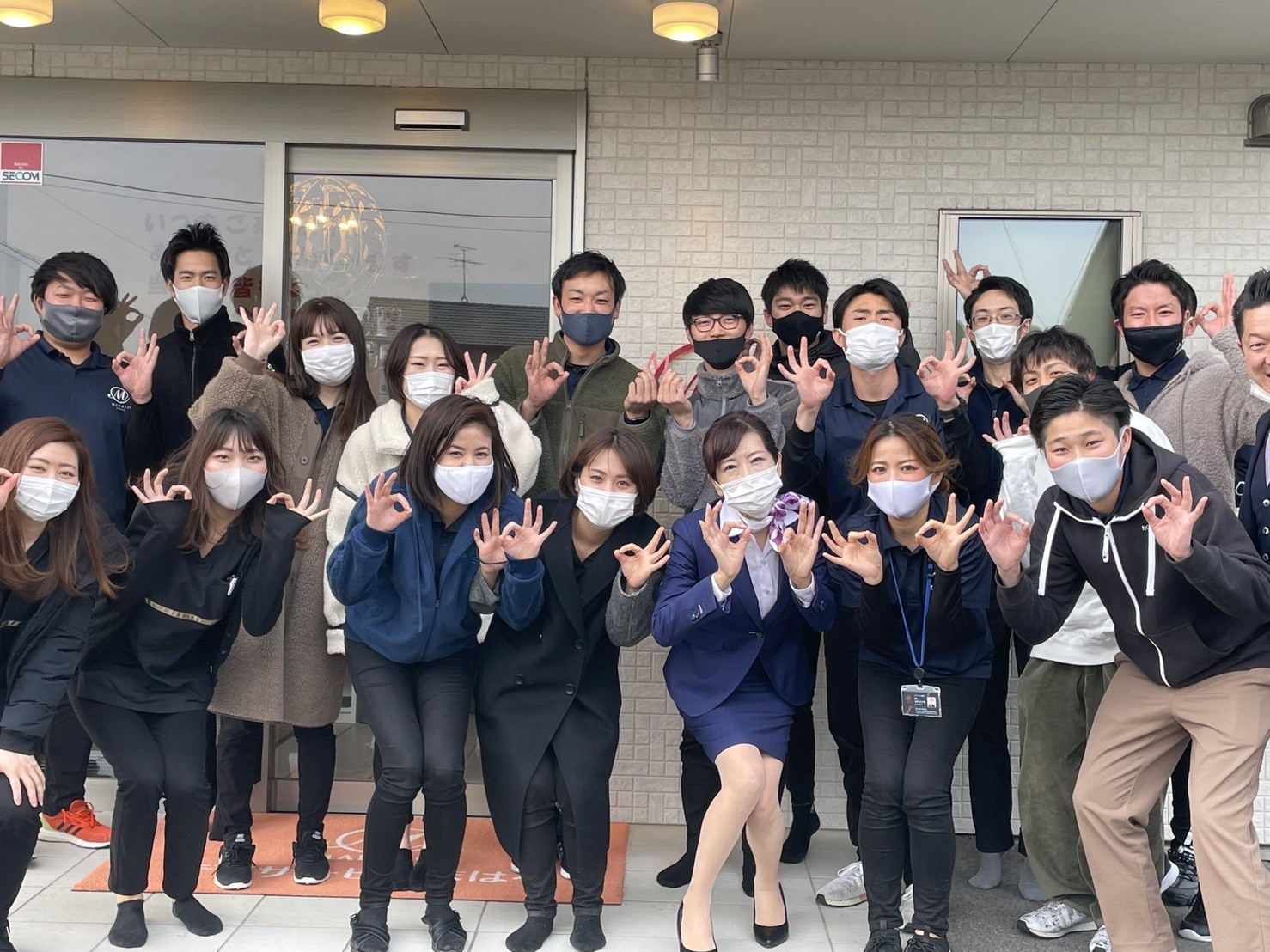 【開催報告】株式会社昭真会 スタッフの皆様にビジネス・接遇マナー研修