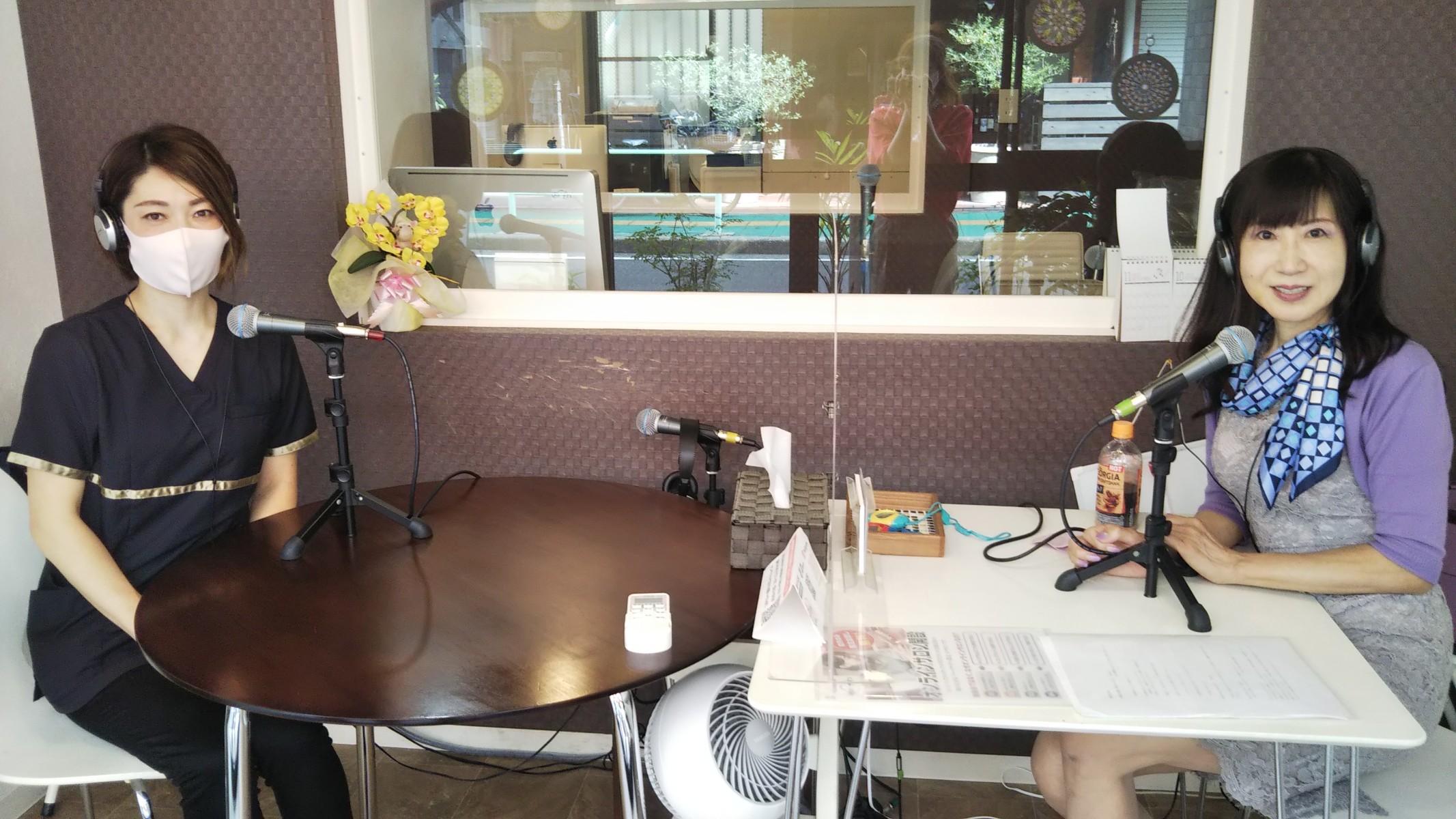 """【放送】ゆめのたね放送局「竹内由比子のお洒落トーク""""井元朋子さん"""""""